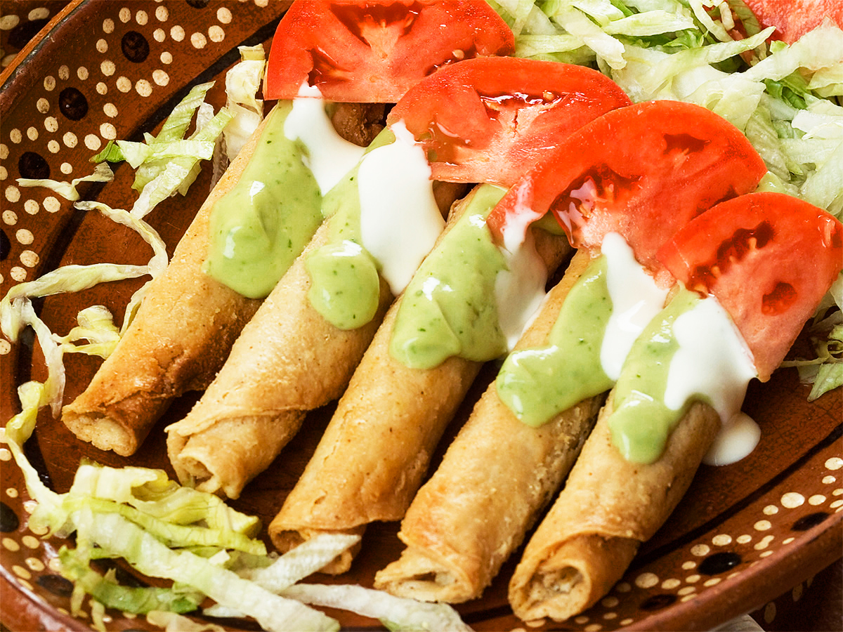 Flautas Recipe A Mexican Street Food Staple Asenzya