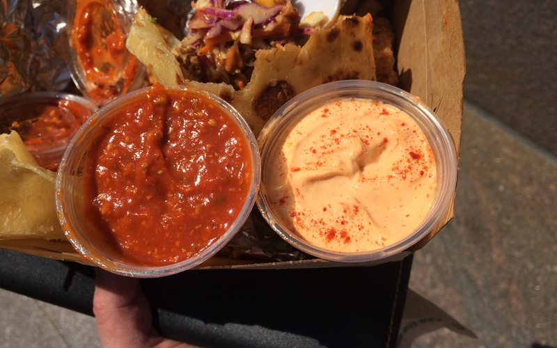 Hot Indian Food Truck Hot Sauces