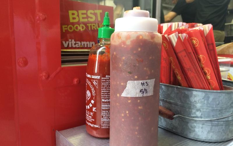 World Street Kitchen Food Truck Hot Sauce