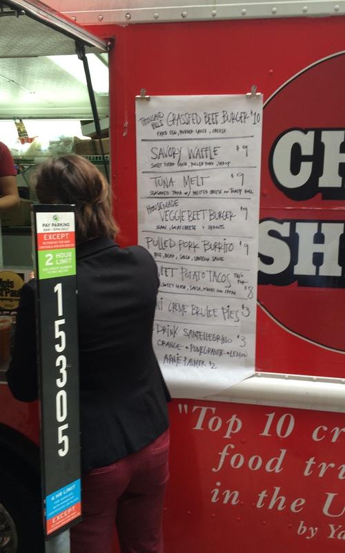 Chef Shack Food Truck Menu