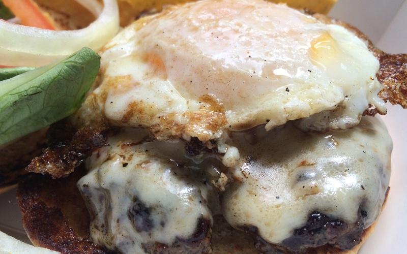 Chef Shack Food Truck Burger