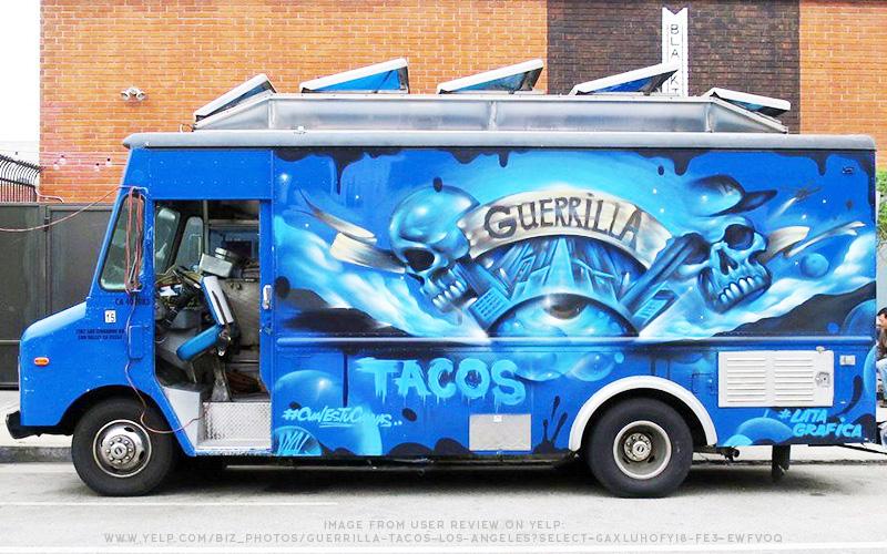 Guerrilla Tacos Food Truck